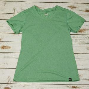 REI T-Shirt Mint Green Size S